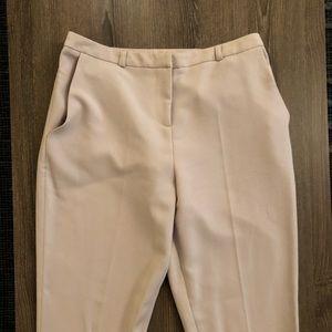 ASOS beige trousers.